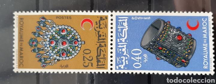 MARRUECOS, 1968, YVERT 558A**, JOYAS (Sellos - Extranjero - África - Marruecos)
