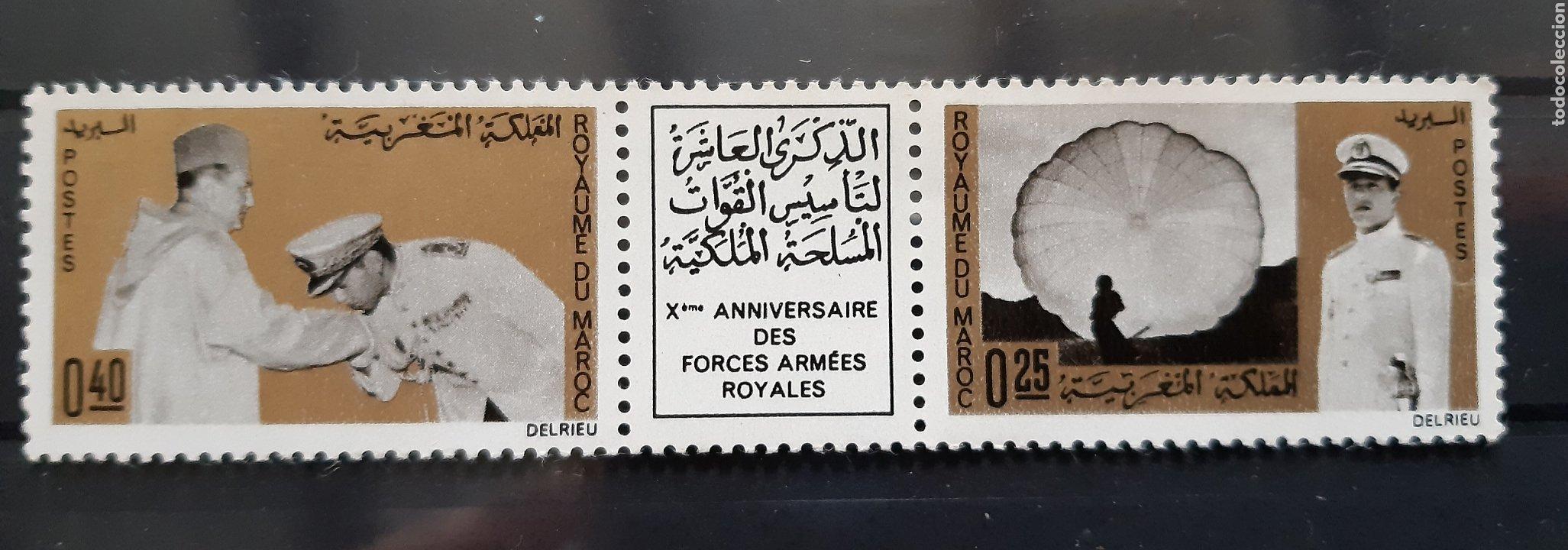 MARRUECOS, 1966, YVERT 505A** (Sellos - Extranjero - África - Marruecos)