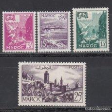 Sellos: MARRUECOS,1954 YVERT Nº 331 / 334 /*/ . Lote 195099540