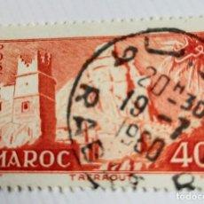 Sellos: SELLO DE MARRUECOS 1955 TAFFRAOUT VILLAGE 40F. Lote 202408202