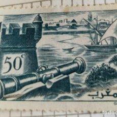 Sellos: SELLO DE MARRUECOS 1940 WALLS OF SALÉ 0.50C. Lote 202474085