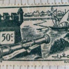 Sellos: SELLO DE MARRUECOS 1940 WALLS OF SALÉ 0.50C. Lote 202474400