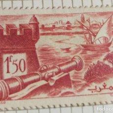Sellos: SELLO DE MARRUECOS1940 SALÉ'S BATTLEMENTS 1.50F. Lote 202477712