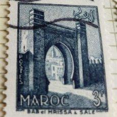 Sellos: SELLO DE MARRUECOS 1955 BAB-EL-MRISSA, IN SALE 3F. Lote 202499252