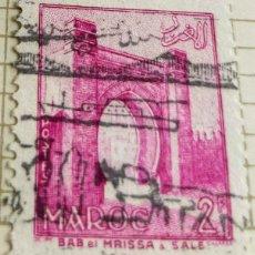Sellos: SELLO DE MARRUECOS 1955 BAB EL MRISSA – SALÉ 2F. Lote 202499331