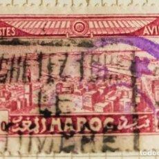 Sellos: SELLO DE MARRUECOS 1933 CASABLANCA 2.50F. Lote 202531123