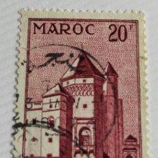 Sellos: SELLO DE MARRUECOS 1955 MAHAKMA – CASABLANCA 20F. Lote 202594096