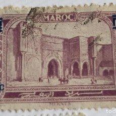 Sellos: SELLO DE MARRUECOS 1931 MEKNÉS (PORTE BAB-EL-MANSOUR) SOBRECARGA 50C. Lote 202599235