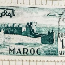 Sellos: SELLO DE MARRUECOS 1952 WALLS OF CHELLA IN RABAT 10F. Lote 202611942