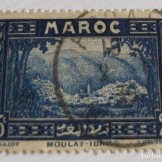 Sellos: 1 SELLO MARRUECOS 1933 MOULAY – IDRISS 25 C MARROQUÍ. Lote 202612315