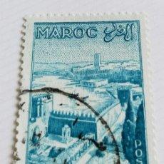 Sellos: SELLO DE MARRUECOS 1955 GARDEN OUDAÏAS IN RABAT 75F. Lote 202613013