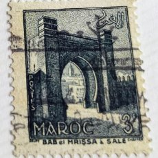 Sellos: SELLO DE MARRUECOS 1955 BAB-EL-MRISSA, IN SALE 3F. Lote 202613213