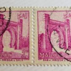 Sellos: 4 SELLOS UNIDOS DE MARRUECOS 1955 BAB EL MRISSA – SALÉ 2F PAÍS: MARRUECOS SERIE: ARCHITECTURE CÓDIGO. Lote 202613767