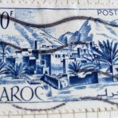 Sellos: SELLO DE MARRUECOS 1951 TODRA VALLEY 30F. Lote 202758027