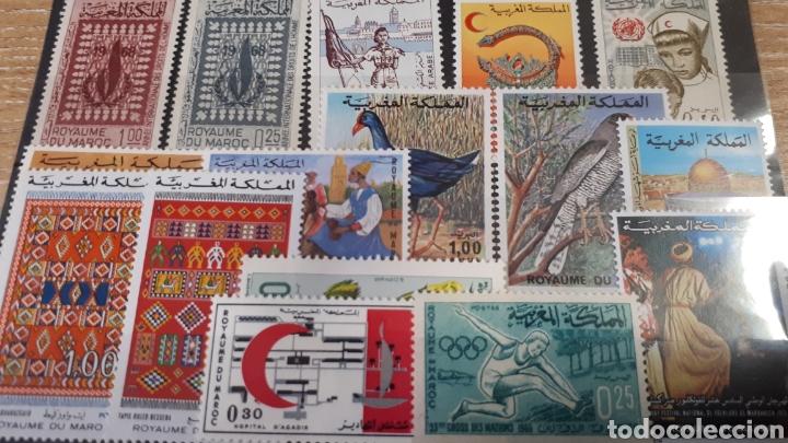 Sellos: SELLOS DE MARRUECOS CON GOMA ORIGINAL Y167 - Foto 3 - 203628840