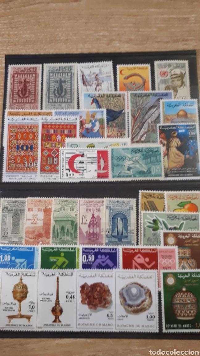 SELLOS DE MARRUECOS CON GOMA ORIGINAL Y167 (Sellos - Extranjero - África - Marruecos)