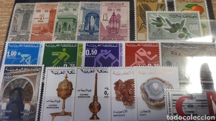 Sellos: SELLOS DE MARRUECOS CON GOMA ORIGINAL Y169 - Foto 2 - 203629330