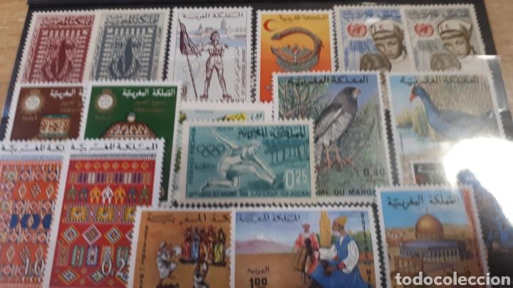 Sellos: SELLOS DE MARRUECOS CON GOMA ORIGINAL Y169 - Foto 3 - 203629330
