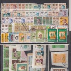 Sellos: MARRUECOS.. CONJUNTO DE 94 SELLOS USADOS ALGUNOS S/FRAGMENTO. CALIDAD GENERALMENTE BUENA.. Lote 204426556