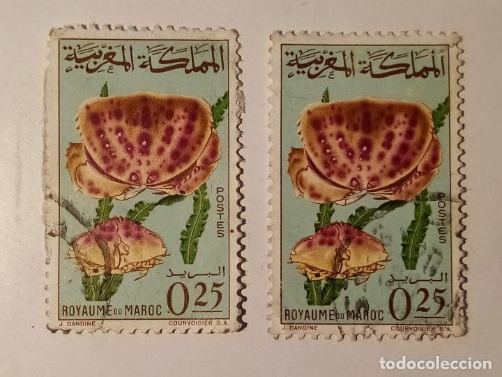 MARRUECOS 1965 2 SELLOS (Sellos - Extranjero - África - Marruecos)