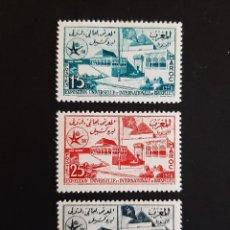 Sellos: SELLOS MARRUECOS - 1958 - YT 383 / 385 - EXPOSICION BRUSELAS - /**/ NUEVOS. Lote 206485152