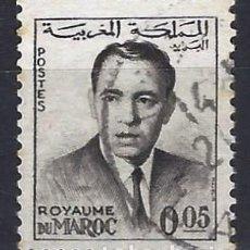 Selos: MARRUECOS 1962 - REY HASSAN II - SELLO USADO. Lote 208118580