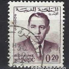 Selos: MARRUECOS 1962 - REY HASSAN II - SELLO USADO. Lote 208118602