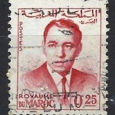 Selos: MARRUECOS 1962 - REY HASSAN II - SELLO USADO. Lote 208118638