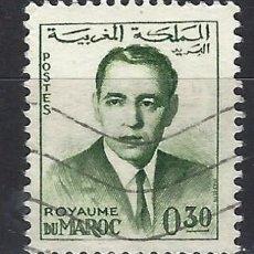 Selos: MARRUECOS 1962 - REY HASSAN II - SELLO USADO. Lote 208118652