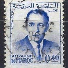 Selos: MARRUECOS 1962 - REY HASSAN II - SELLO USADO. Lote 208118671