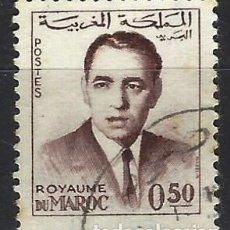 Selos: MARRUECOS 1962 - REY HASSAN II - SELLO USADO. Lote 208118682