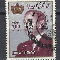 Selos: MARRUECOS 1983 - REY HASSAN II - SELLO USADO. Lote 208118868