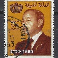 Selos: MARRUECOS 1983 - REY HASSAN II - SELLO USADO. Lote 208118875