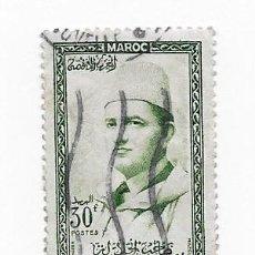 Sellos: MARRUECOS MAROC 30F MOHAMED V, AÑO 1967. USADO. Lote 217423012