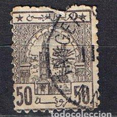 Sellos: MARRUECOS 1912 TANGER SHEREEFIAN ZONE 50 MAZUMA - SELLO USADO CLASICO ANTIGUO. Lote 217506501