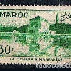 Sellos: MARRUECOS 1955 PAISAJE Y ARQUITECTURA - SELLO USADO CLASICO ANTIGUO. Lote 217506593