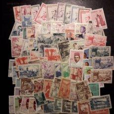 Sellos: MARRUECOS. LOTE DE 100 SELLOS DIFERENTES. MAYORÍA USADOS. LOS DE LAS FOTOS.. Lote 218551381