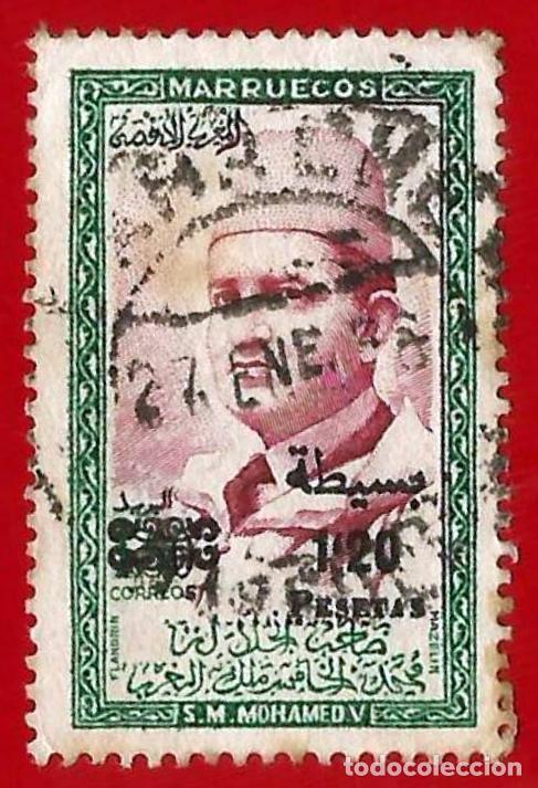 MARRUECOS. ZONA NORTE. 1957. SULTAN MOHAMED V (Sellos - Extranjero - África - Marruecos)