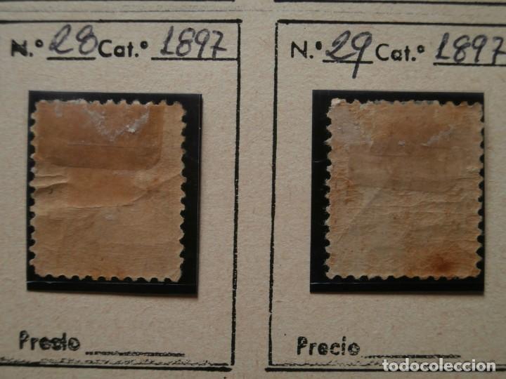 Sellos: FRANCIA-MARRUECOS CORREO LOCAL 1897 ZONA NORTE. - Foto 7 - 235062260