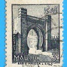 Timbres: MARRUECOS. PROTECTORADO FRANCES. 1955. BAB MRISA. SALE. Lote 237536610