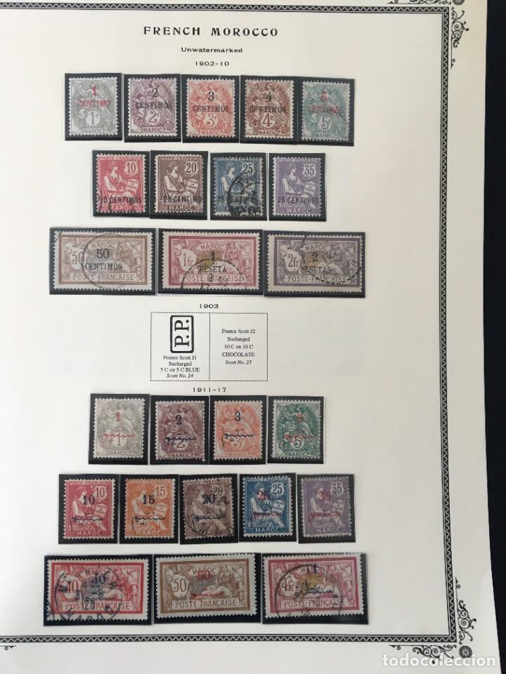 MARRUECOS, 1902 - 1952 COLECCIÓN DE SELLOS NUEVOS Y USADOS, (CAT.+1000€) (Sellos - Extranjero - África - Marruecos)