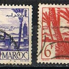 Sellos: MARRUECOS (COLONIA FRANCESA) AÑO 1947, IVERT Nº 255, OASIS, USADO. Lote 260874695