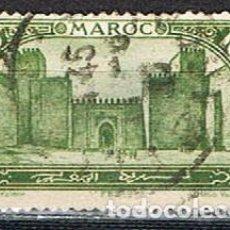 Sellos: MARRUECOS IVERT Nº 67, (AÑO 1917), EL GRAN MECHUAR (PATIO) EN FEZ, USADO. Lote 261026680