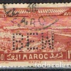 Sellos: MARRUECOS AEREO IVERT Nº 36, (AÑO 1933), RABAT, USADO. Lote 261049540