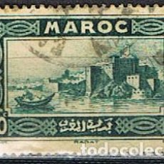 Sellos: MARRUECOS COLONIA FRANCESA IVERT Nº 139 (AÑO 1933), KASHBAH DE UDAIAS (RABAT), USADO. Lote 262295860