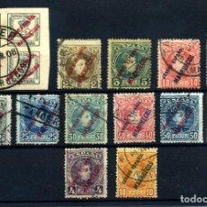 Francobolli: MARRUECOS ESPAÑOL Nº 1/13. AÑO 1903/9. Lote 267096764