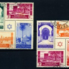 Timbres: MARRUECOS ESPAÑOL Nº 167/68. AÑO 1937. Lote 267098549