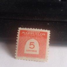 Sellos: MARRUECOS 5 CÉNTIMOS. Lote 284602833
