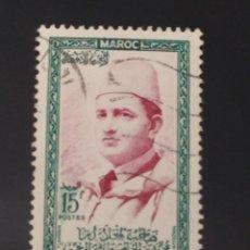 Sellos: ## MARRUECOS USADO 1956 15F##. Lote 287628598