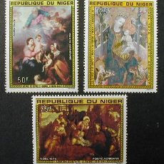Sellos: NIGER 1975 NAVIDAD NOEL YVERT AV. 257/259. Lote 13178273